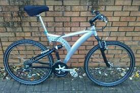 Custom Hand built, All Aluminium, Full Suspension Mountain Bike, offers?