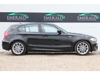 2010 60 BMW 1 SERIES 2.0 118D M SPORT 5D AUTO 141 BHP DIESEL