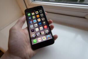 Perfect condition I phone 6 plus black 16GB
