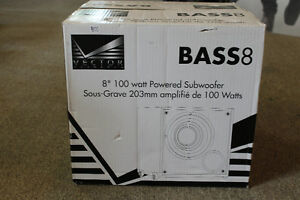 8 inch home theatre sub woofer, Vector Bass8 by Vector Records
