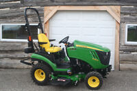 John Deere 1025R with One Year Warranty