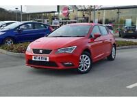 2014 SEAT LEON Seat Leon 1.6 TDI SE 5dr DSG [Technology Pack] Auto