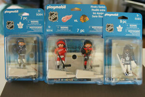 Playmobil Hockey: Toronto, Detroit & Chicago - New