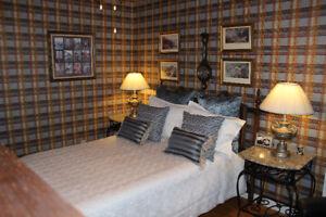 Tete de lit  double ou Queen/Mobilier de chambre a coucher