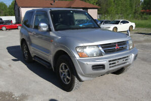 2000 MITSUBISHI PAJERO DIESEL TURBO 2 DR RIGHT HAND DRIVE