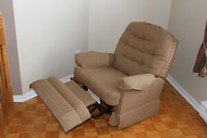Fauteuil inclinable en tissus