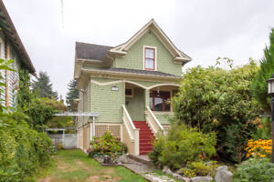 BEAUTIFUL HERITAGE HOUSE - For Sale - East Vancouver