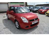 Suzuki Swift 1.5 GLX 3 DOOR RED 2008 MODEL + LITTLE JEWEL OF A CAR+