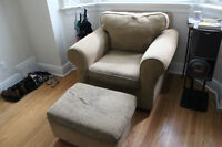 Really comfortable custom couch and armchair - Free