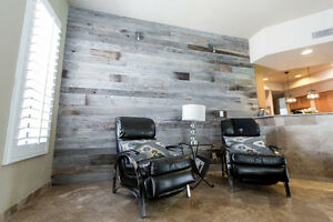 Exclusive! 10% off Reclaimed Wood Accent Wall! Cambridge Kitchener Area image 4