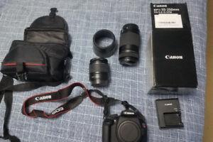 Canon EOS Rebel T5 w/access