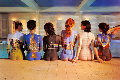 Pink Floyd - Back Catalogue Poster Print 36x24 Rock & Pop Music