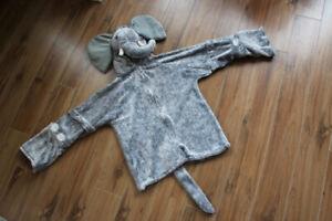 Costume d'éléphant, 4-6 X ans