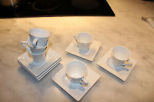 Lot de 6 tasses à café