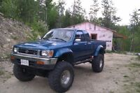 Toyota 1991 Toyota Truck Pickup - Needs New Engine