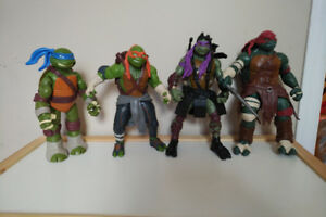 Lot de 4 grosses Tortue Ninja
