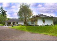 5 bedroom detached bungalow - Balnain, Drumnadrochit, IV636TJ - 3.69 acres - beautiful location
