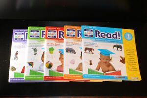 Your Baby Can Read set - Levels 1-5 BRAND NEW videos and books