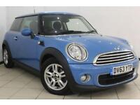 2013 63 MINI HATCH ONE 1.6 ONE D 3DR 90 BHP PEPPER PACK DIESEL
