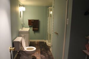 Large room with attached bathroom and shared living space Peterborough Peterborough Area image 4