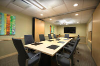 EXECUTIVE BOARDROOM ON A BUDGET