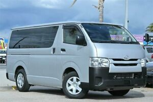 2015 Toyota HiAce KDH201R LWB Silver 4 Speed Automatic Van Cheltenham Kingston Area Preview