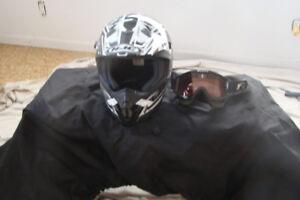 ATV HELMET SIZE XL