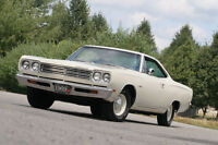 1969 Plymouth Satellite original A/C show winner
