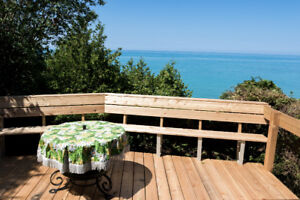 Waterfront cottage, private beach, close to Bayfield