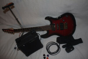 8 PIECE electric guitar KIT ----- $250