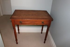 Antique Small Desk with Drawer