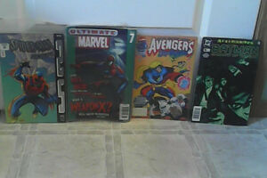 Selling 4 Old Comic Books