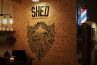 Barber wanted at The Shed Grooming Studio!