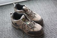 Steel toed shoes, size 9