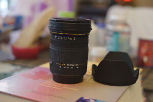 sigma lens for canon 18x50