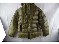 Mens olive armani winter jacket for sale men size