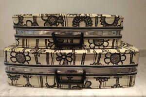 Vintage Samsonite Fashionaire Marimekko Luggage Set