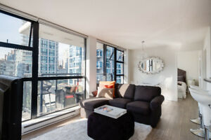 BEST VALUE IN YALETOWN – FURNISHED RENTAL, AVAILABLE IMMEDIATELY