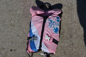 Small Infant- sized Pink Life-jacket Wt from 20 to 30lbs
