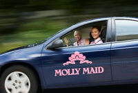 Molly Maid Ottawa East and South are HIRING FULL TIME