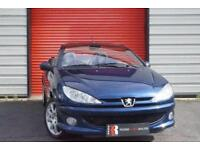 2005 55 PEUGEOT 206 1.6 ALLURE HDI COUPE CABRIOLET 2D 108 BHP DIESEL