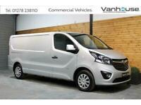 2017 Vauxhall Vivaro LWB 2900 SPORTIVE CDTI BITURBO S-S Panel Van Diesel Manual