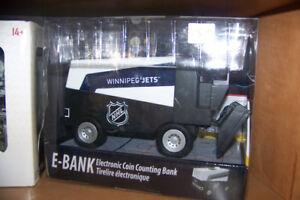 Winnipeg Jets Zambonie Electronic Bank