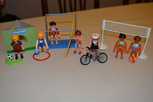 Playmobil Girls Sports Lot - All for $20