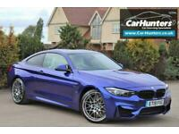 2019 BMW M4 3.0 M4 COMPETITION 2d 444 BHP Coupe Petrol Semi Automatic