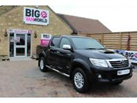 2015 TOYOTA HI-LUX INVINCIBLE 4X4 D-4D 169 DOUBLE CAB WITH ROLL'N'LOCK TOP PICK