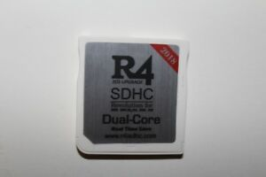 Two  R4 SDHC Dual core 2018 card for all Nintendo 3DS / DS