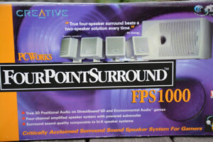 Cambridge SoundWorks Surround Sound System for PC