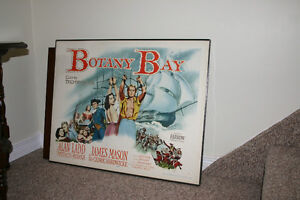 BOTANY BAY POSTER/PICTURE/UNIQUE ITEM/COLLECTIBLES