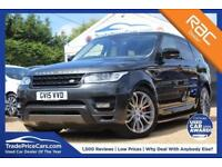 2015 LAND ROVER RANGE ROVER SPORT 3.0 SDV6 AUTOBIOGRAPHY DYNAMIC 5D AUTO 306 BHP